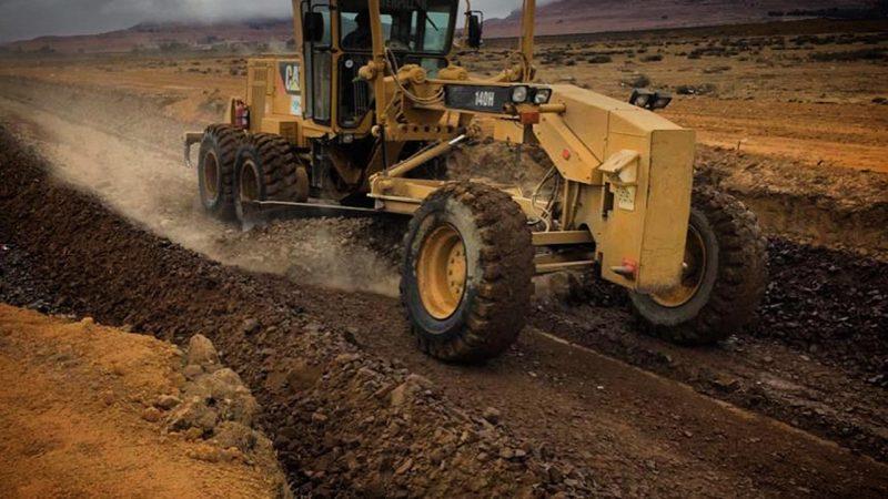 Mofomo Construction - New Surfaced Road - Intabazwe Harrismith